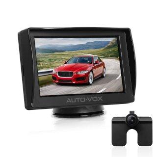 AUTO-VOX M1 Backup Camera Kit Rear View Back Up Car Camera IP68 Waterproof Super Night Vision