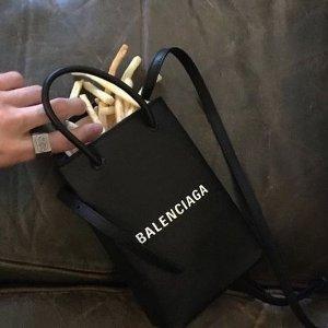 低至7.5折+包税上新:Balenciaga 网红爆款闪购 $713收封面同款手机包