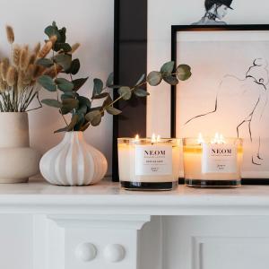 无门槛7.5折+满送正装蜡烛Neom 疗愈香氛品牌闪促 收精油蜡烛,助眠身体乳