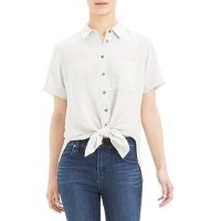 Theory Hekanina Button-Down 短款衬衫
