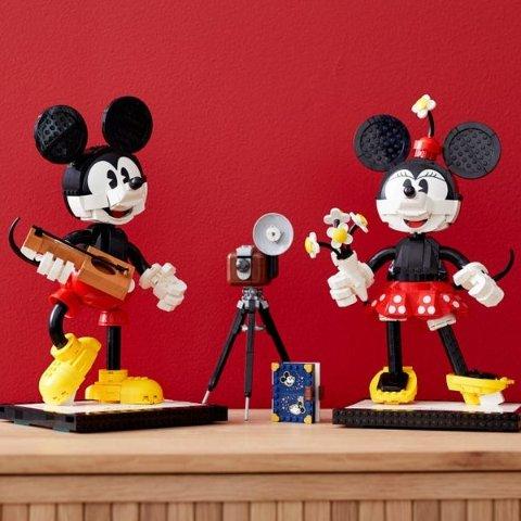 满额送创意12合1套装LEGO官网 超多新品上市 速抢米奇、米妮