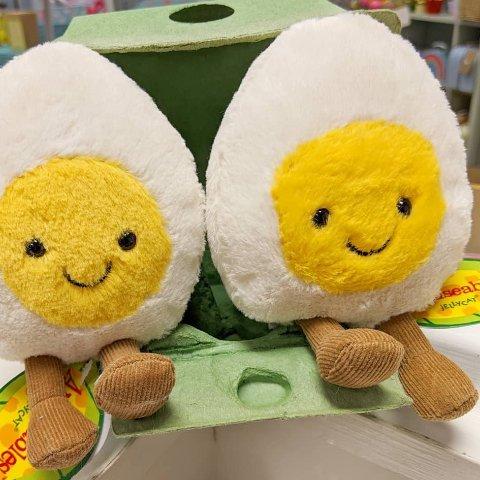 £16收煎蛋仔 超萌小面包补货补货:Jellycat 爆款牛油果、鸡蛋、邦尼兔、西瓜、柠檬都有 哄女朋友神器