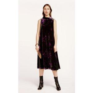 Duiri Akileija dress - purple, dark purple, green - Marimekko.com
