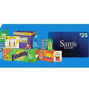 Get $25 eGift Card over $100 orderBuy Bounty, Tide, Gain household essentials products