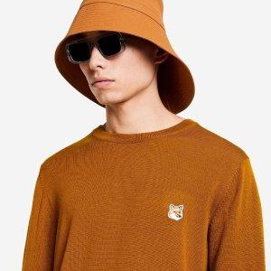 无门槛7.8折 欧阳娜娜同款T恤$95Maison Kitsuné 法式小清新 get明星同款小狐狸T恤、卫衣