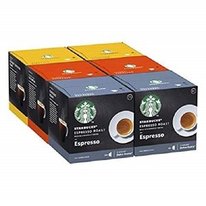 Starbucks综合口味Espresso 综合浓缩咖啡胶囊 72颗 (6 x 12)