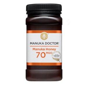 Manuka Doctor250g售价£40,相当于变相2.4折70 MGO 1kg