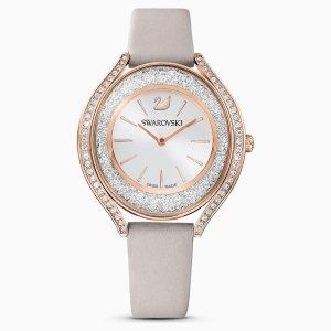 Swarovski粉色手表