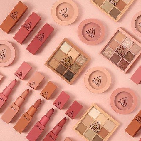 低至4折 $11收丰盈唇膏3CE 韩国网红彩妆 收哑光唇膏、细管丝绒唇釉