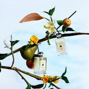 任意单送好礼 全新限定Q香仅$25Jo Malone London 香氛蜡烛热卖 收英国梨与小苍兰波浪瓶