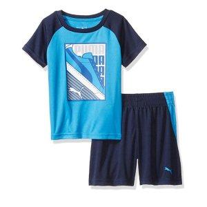 $4.81Amazon PUMA Toddler Boys' T-Shirt & Short Set