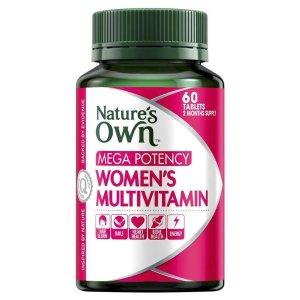 nature's ownMega Potency Women's Multivitamin 60 Tablets
