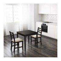 Ikea 深棕色餐桌