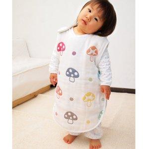 直邮美国到手价$43.7日本 Hoppetta 蘑菇 纱布 睡袋 特价