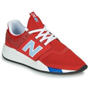 New Balance247 大红色运动鞋