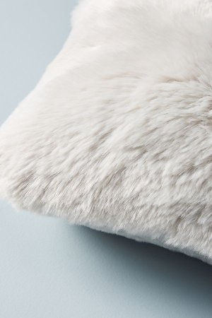 Fireside Faux Fur Pillow