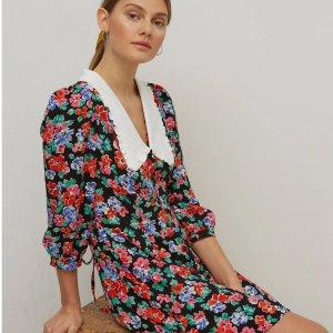 5折起 £21收MiuMiu平替连衣裙Marks & Spencer 夏促时尚专场 收碎花裙、休闲上衣
