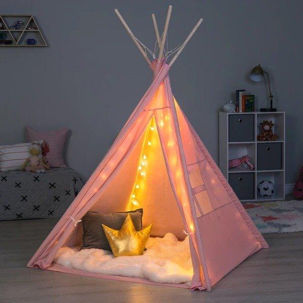6英尺 儿童棉质帐篷,多色选