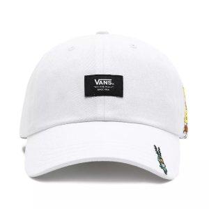 Vans100%全棉 X SpongeBob 白色棒球帽