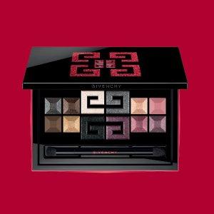 $67 (原价$90) 12色打造任何妆容Givenchy 限量眼影盘热卖 红黑配色+独特LOGO色块设计