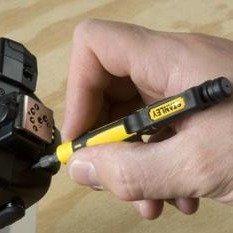 现价£3(原价£3.99)Stanley 史丹利 66-344 4合1 便携笔式螺丝刀