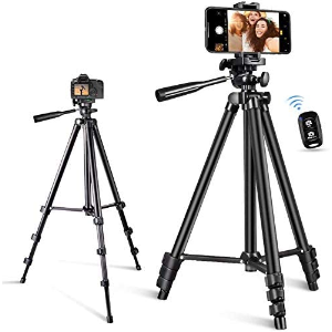 $9.99(原价$32.99) 360度旋转白菜价:Petiarkit蓝牙自拍三脚架 运动相机、手机、数码相机皆可