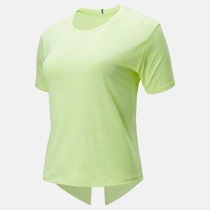 New Balance亮绿色T恤