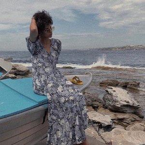 变相67折 近期最强折 封面美裙£120收Ganni 全线热促满额减 收INS风美衣