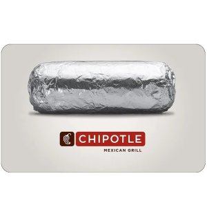 Chipotle $50 Gift Card