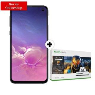一次性购机费1欧送 Xbox One S三星S10e超值合同 包月上网6GB 包月电话+包月短信