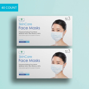 Start $17.99 + Free ShippingDealmoon Exclusive: Disposable Face Mask 3-Layer for General Purpose Use 40 Count