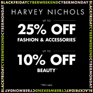 10% Off Beauty + 25% OffDesigner Handbags, Shoes, Clothing @ Harvey Nichols & Co Ltd