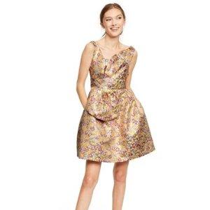 单品预览,9月14日发售Zac Posen for Target 碎花连衣裙