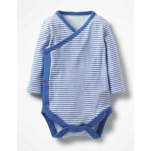 Boden婴儿有机棉侧开包臀衫