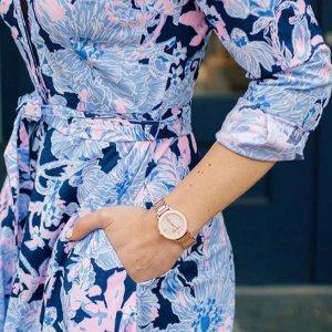 $27起 收嫩蓝少女款啦Anne Klein 精选腕表促销 4件套黑五价$41.64