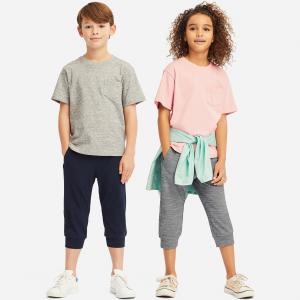 全场包邮+最低$3.9 封面短裤$9.9UNIQLO 儿童服饰优惠 秋冬厚款外套$19.9