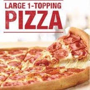 免费Sprint 用户专享 Papa John's 大号 1-Topping 披萨