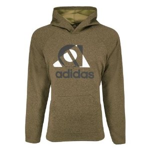 Adidasadidas Men's Lifestyle Essential Linear Pullover Hoodie