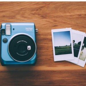 $93.99限今天:Fujifilm Instax Mini 70 拍立得相机 海岛蓝