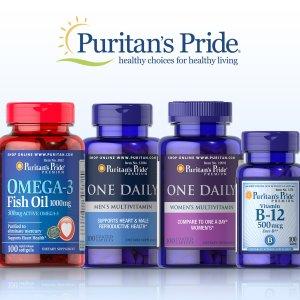 25% off plus Buy 1 get 2 FreePuritan's Pride brand Vitamin and Supplements