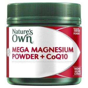 nature's ownMega Magnesium Powder + CoQ10 180g