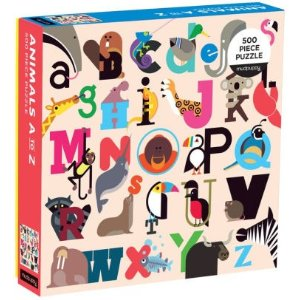 500片字母动物拼图