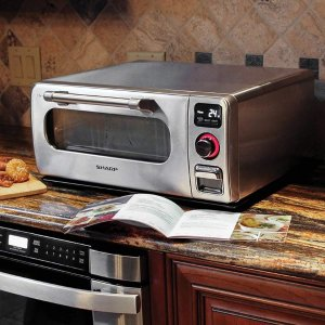 Sharp 不锈钢台式蒸汽烤箱
