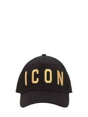 DSquared2 LVR EDITION ICON CANVAS BASEBALL HAT