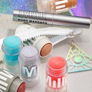 满额8折+送精致卡包11.11独家:Milk Makeup官网 全场美妆热卖