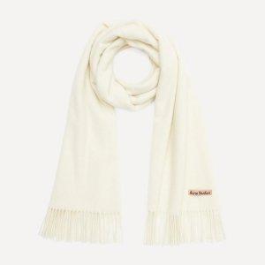 8折起+额外9折!£81收ACNE围巾轻奢大牌围巾专场 高级质感 温暖加倍 Acne、Loewe 好价收