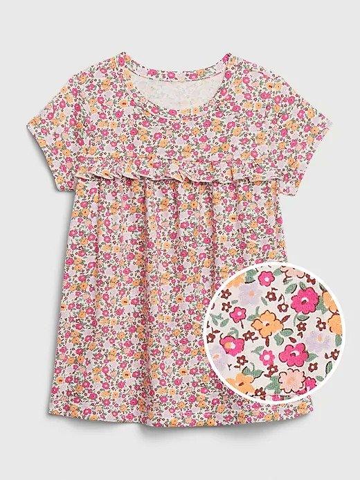 婴儿、小童短袖印花T恤