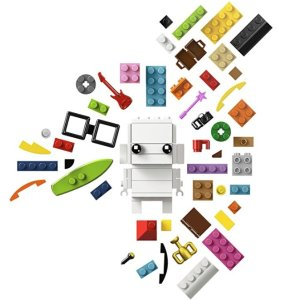 $23.99 LEGO BrickHeadz Go Brick Me 41597 Building Kit (708 Piece)