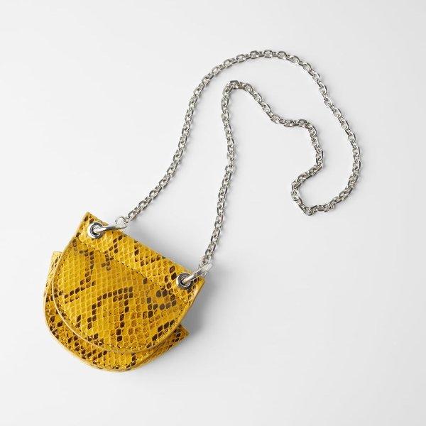 柠檬黄mini包-两色可选