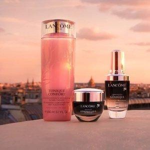 7.5折 €67收小黑瓶Lancôme 全场彩妆护肤热卖 收小黑瓶、超值套装
